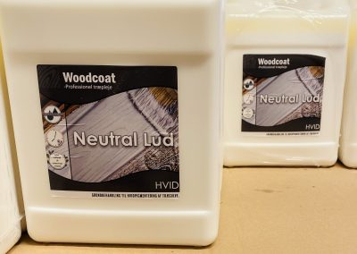 Woodcoat neutral lud hvid